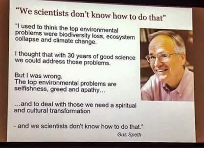 We scientists